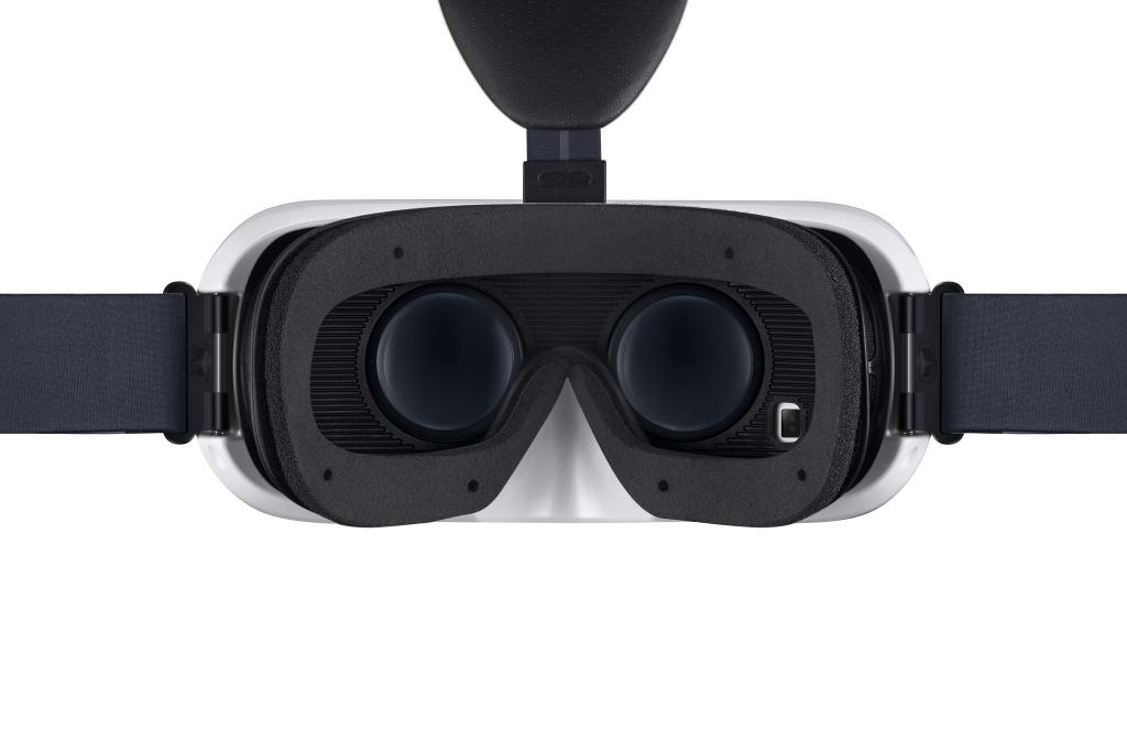 Innenansicht der Samsung Gear VR