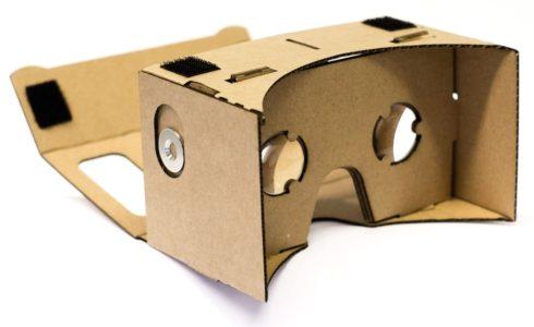 Google Cardboard VR Test